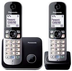 Panasonic KX-TG6812GB schwarz Duo