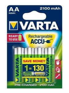VARTA RECHARGE ACCU Power AA 2100mAh Blister 4