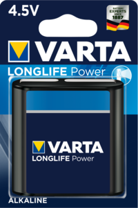 VARTA LONGLIFE Power 4,5V Blister 1