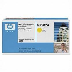 HP Toner inkl. Trommel Q7582A Gelb (ca. 6000 Seiten)