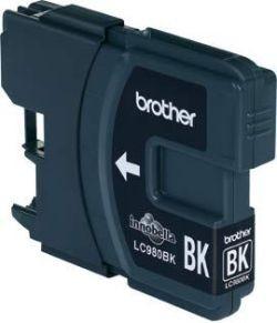 Brother Tintenpatrone LC-980BK Schwarz (ca. 300 Seiten)