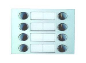 MD228 Ruftastenmodul mit 8 Tasten, 2 Spalten