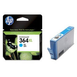 HP Tintenpatrone Nr. 364XL CB323EE Cyan (ca. 750 Seiten)